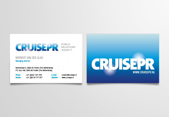 CruisePR huisstijl en website