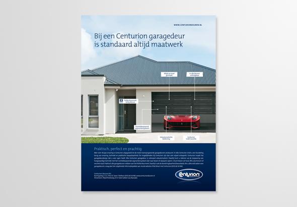 Advertentieserie Centurion Garagedeuren 1