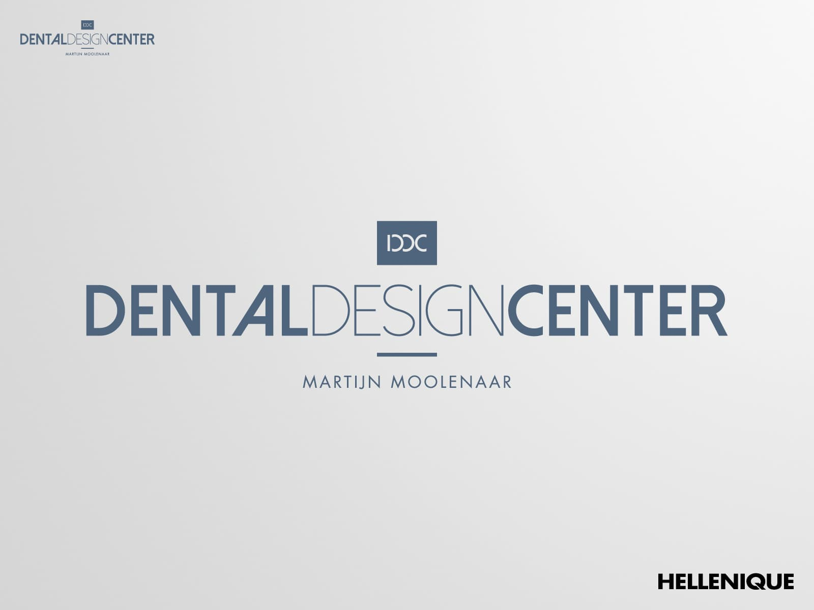 Dental Design Center huisstijl
