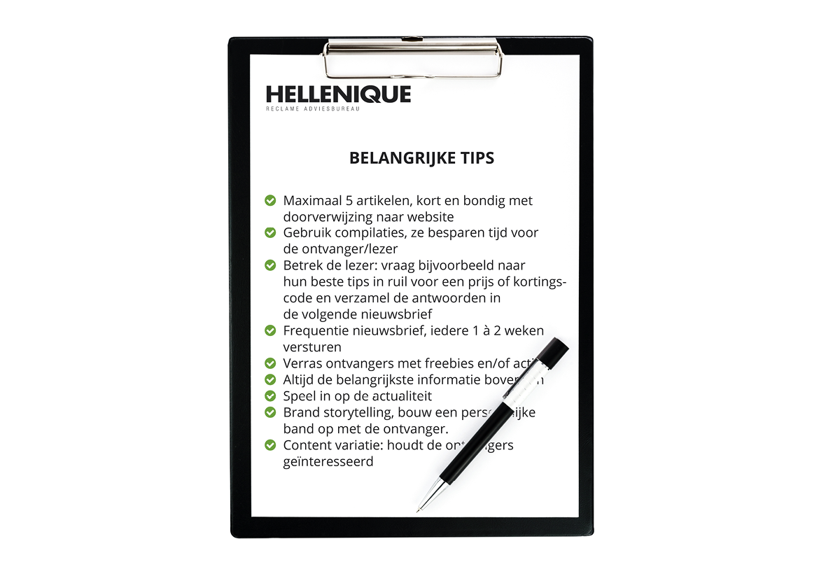 hellenique, mailchimp, tips