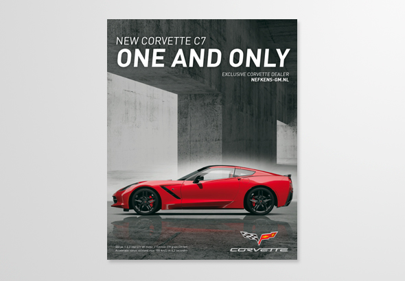 Corvette C7 advertentie 1