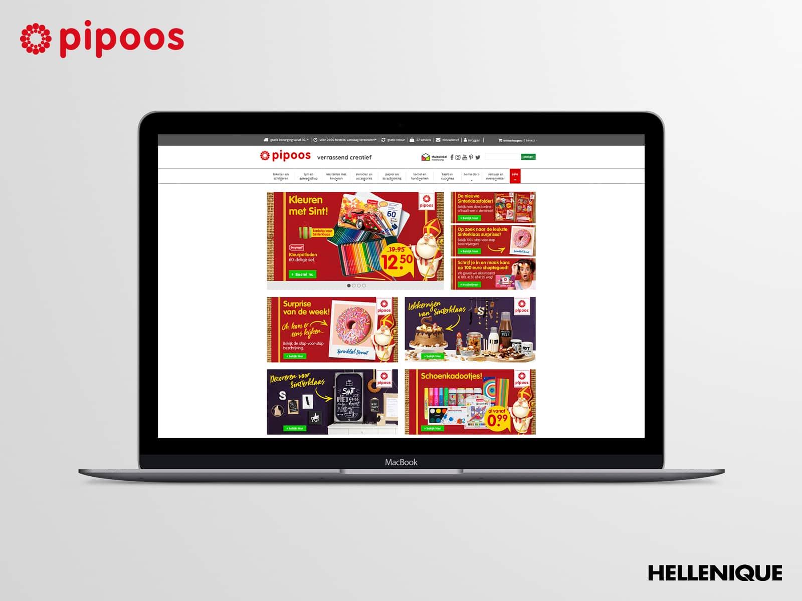 Sinterklaascampagne Pipoos 2