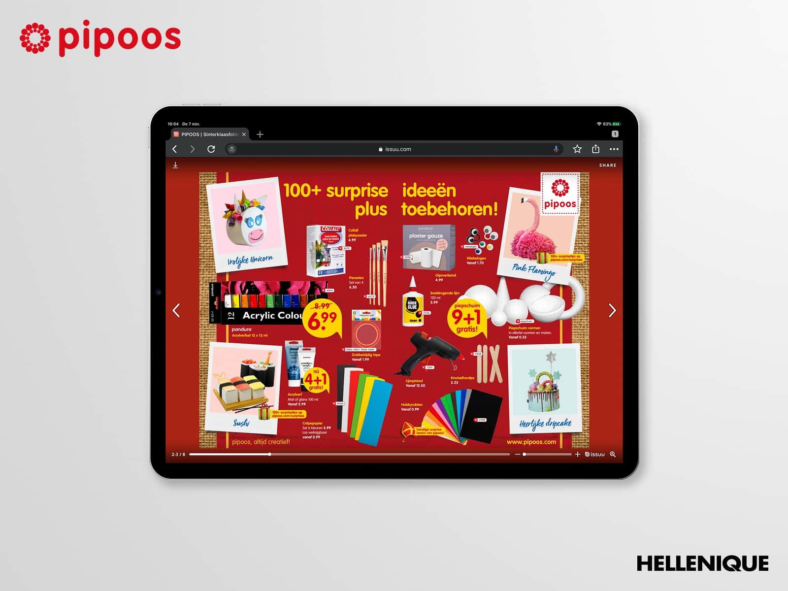 Sinterklaascampagne Pipoos 3
