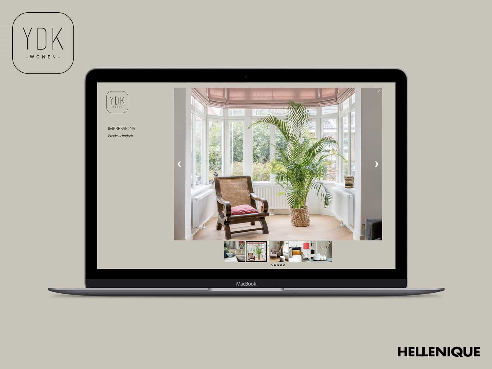 YDK Wonen website 3