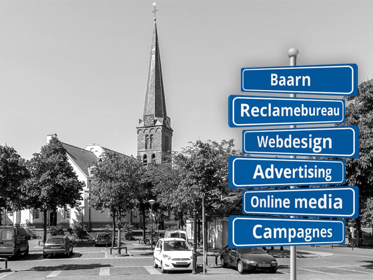 Reclame in Baarn
