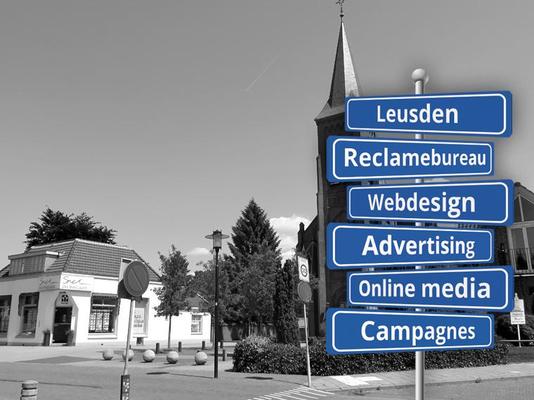 Reclame in Leusden