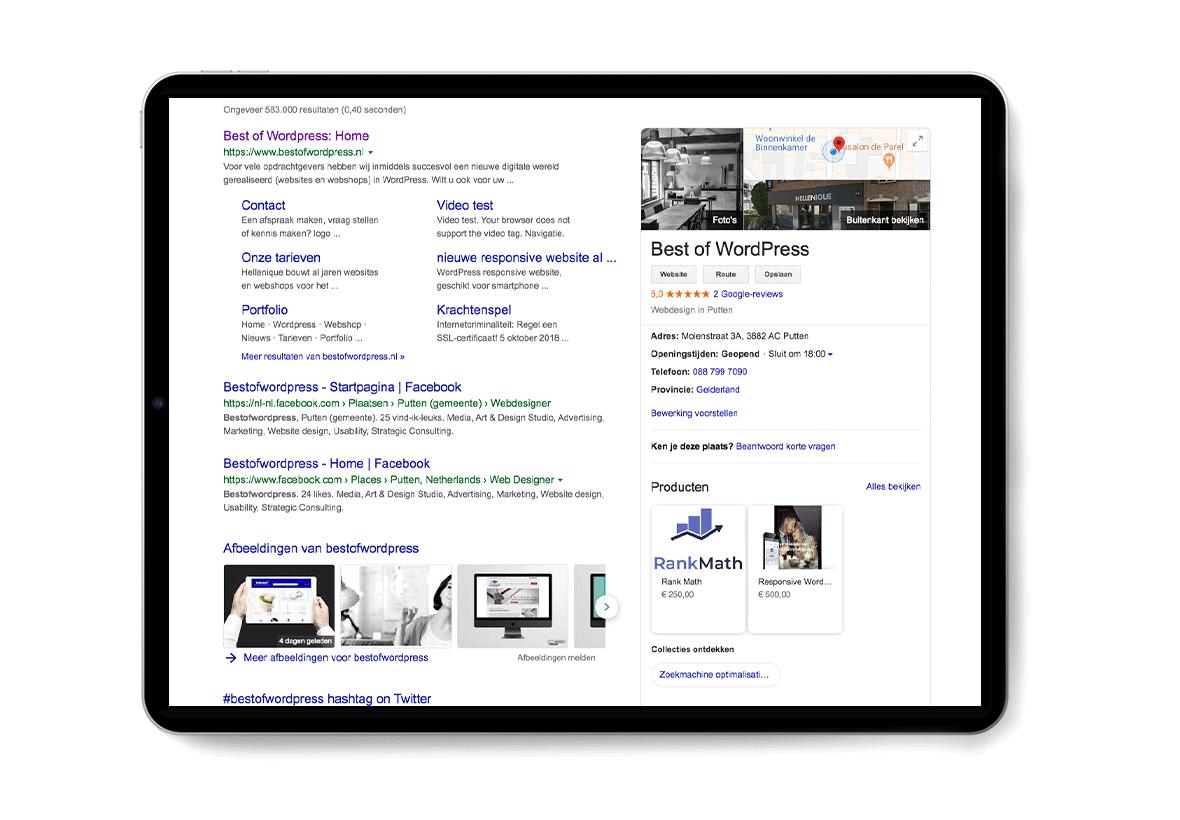 Google Mijn Bedrijf 12