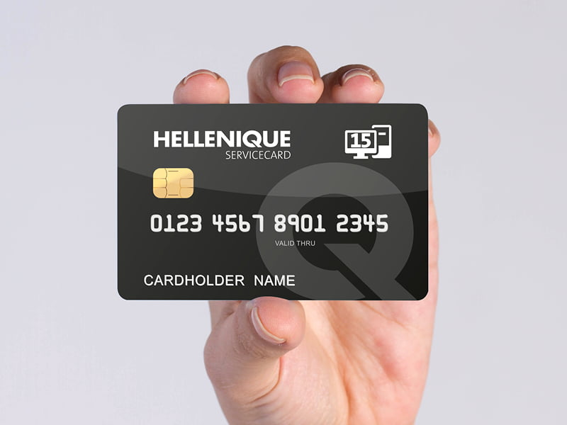 Hellenique service card