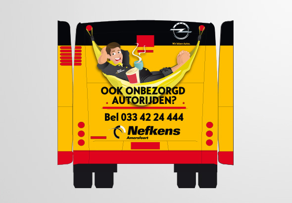 Busreclame Nefkens