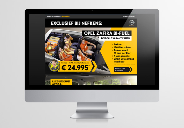 Website Opel-sale.nl