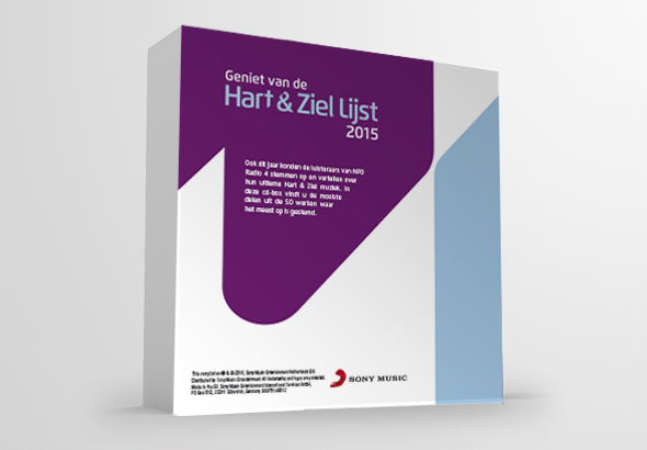 Artwork Radio 4 Hart & Ziel Capbox 5CD 2015