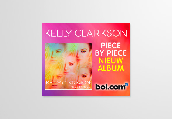 Kelly Clarkson online bannering