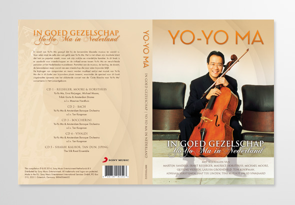 Hardcover Boek (5CD) Yo-Yo Ma